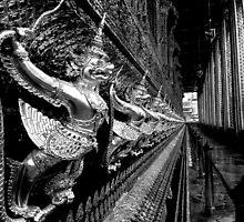 Gilded Garudas by Dave Lloyd