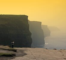 Cliffs of Moher by Kurt  Tutschek