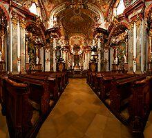 Rococo Church Austria by Ian Smith