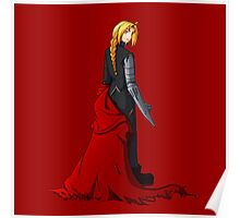 Edward Elric - Battle Ready Poster