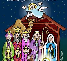 A Saviour is Born! by atheistcards