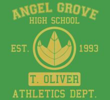Angel Grove H.S. (Green Ranger Edition) by johnbjwilson