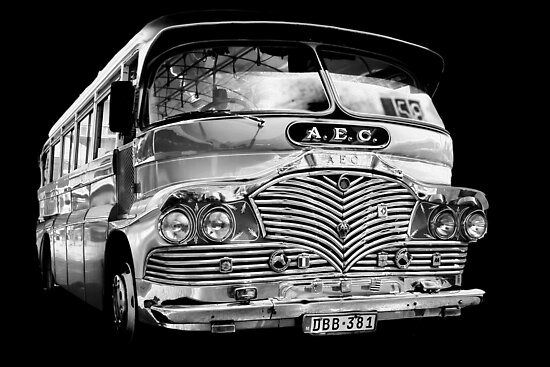 Silver (bus) Surfer by David Elliott