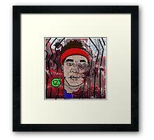 Ha-Dopen Framed Print