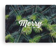 Christmas pine Canvas Print