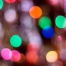 Glowing Lights 3 by Barbara Gordon