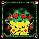 pikachu green by likelikes
