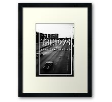 The 1975 Head.Cars.Bending Framed Print