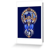 Prince of Saiyans Greeting Card