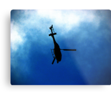 Security Forces Metal Print