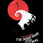 Minimalist Poster : Nightmare Before Christmas by Squall234