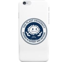Plant University iPhone Case/Skin