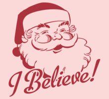 I Believe In Santa Kids Clothes