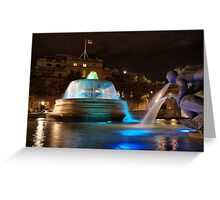 Trafalgar Square, London Greeting Card