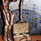 "BiPolar Barbi can't find her shoe! - BRONZE by Belinda ""BillyLee"" NYE (Printmaker)"