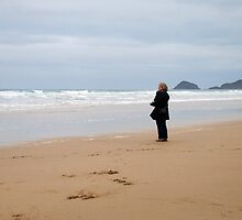 Stranger on the shore by Photography  by Mathilde