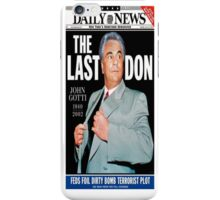 THE LAST DON (J. GOTTI) iPhone Case/Skin