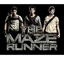 The Maze Runner Photographic Print