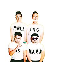 Walk The Moon - Talking is Hard by Kenneth Ong