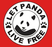 Panda reborn logo Kids Clothes