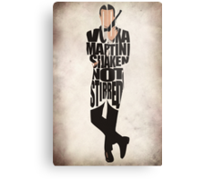 James Bond Metal Print