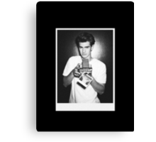 Andrew Garfield (no label) Canvas Print