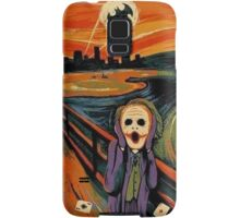 scream joker Samsung Galaxy Case/Skin