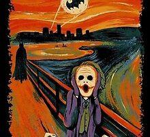 scream joker by Mapivwi