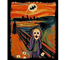 scream joker Photographic Print