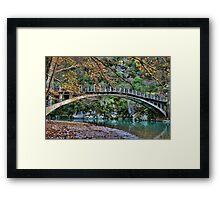 Autumn paradise Framed Print