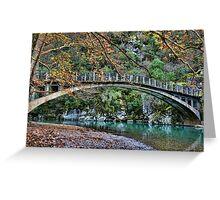 Autumn paradise Greeting Card