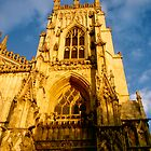 York Minster at sunset by blueclover