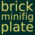 brick minifig plate by ChilleeW
