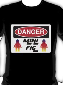 Danger Minifig Sign T-Shirt