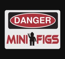 Danger Minifigs Sign by Customize My Minifig