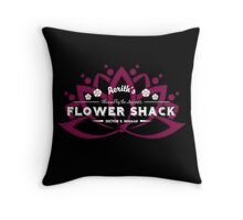 Aerith's Flower Shack Throw Pillow