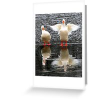 Hey, Watch the Wing! Greeting Card