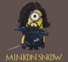 Minion John Snow by minionsaddict