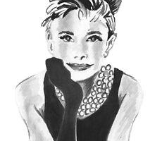 Audrey Hepburn by bridgetdav