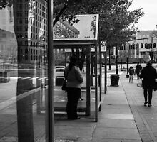 Waiting for the Bus by Mark Jackson