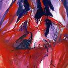 Purple Dance by Anthea  Slade