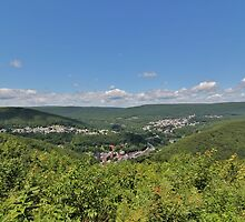 Jim Thorpe From Above by Tim Holmes