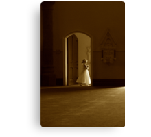 A bridesmaid in waiting Canvas Print