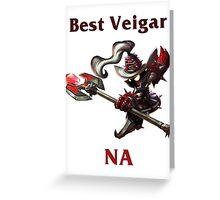 Best Veigar NA Greeting Card