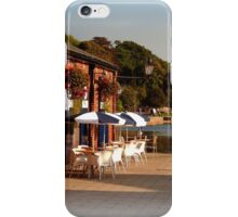 Tea at the Quay iPhone Case/Skin