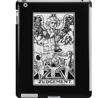 Judgment Tarot Card - Major Arcana - fortune telling - occult - Judgement iPad Case/Skin