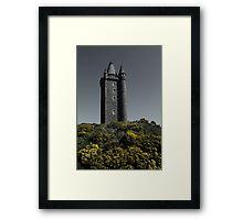 Scrabo Towering Framed Print
