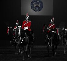 Lord Strathcona's Horse (Royal Canadian) Mounted Troop by Angela E.L. Clements