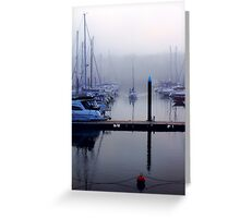 Through The Mist Greeting Card