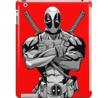 Deadpool B&W iPad Case/Skin